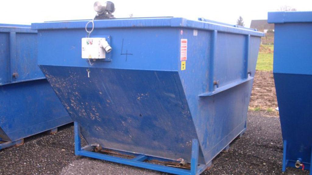 Dienstleistungen Abfallzwischenlager Zwischenlager